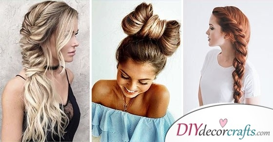 braided hairstyles for long hair and easy braids for long hair Braided Hairdos For Long Hair Ideas