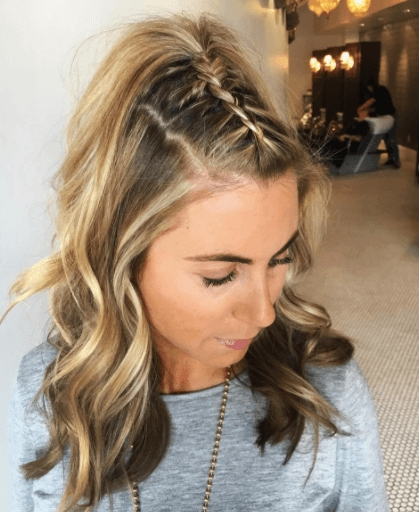 club hairstyles 21 hot hairstyles to prep for your next Braided Hairstyles For Curly Medium Length Hair Choices