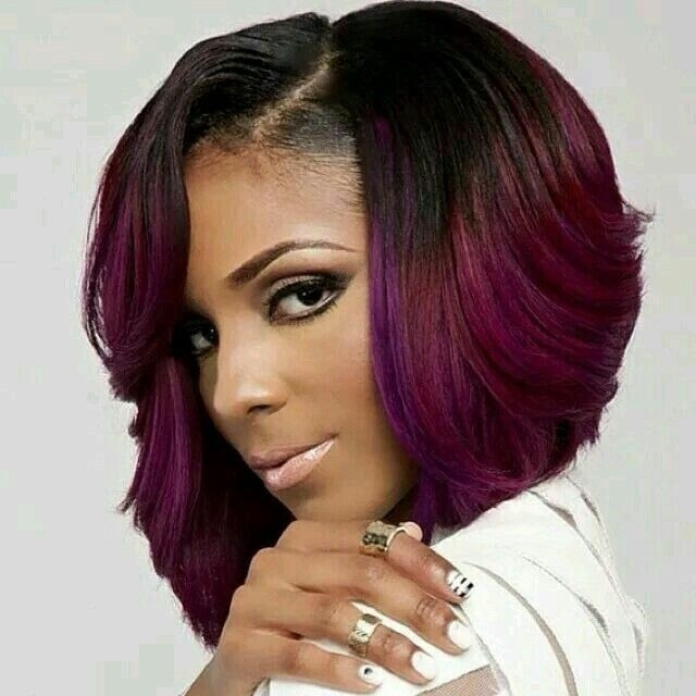 Cozy 15 chic short bob hairstyles black women haircut designs Short African American Bob Hairstyles Ideas