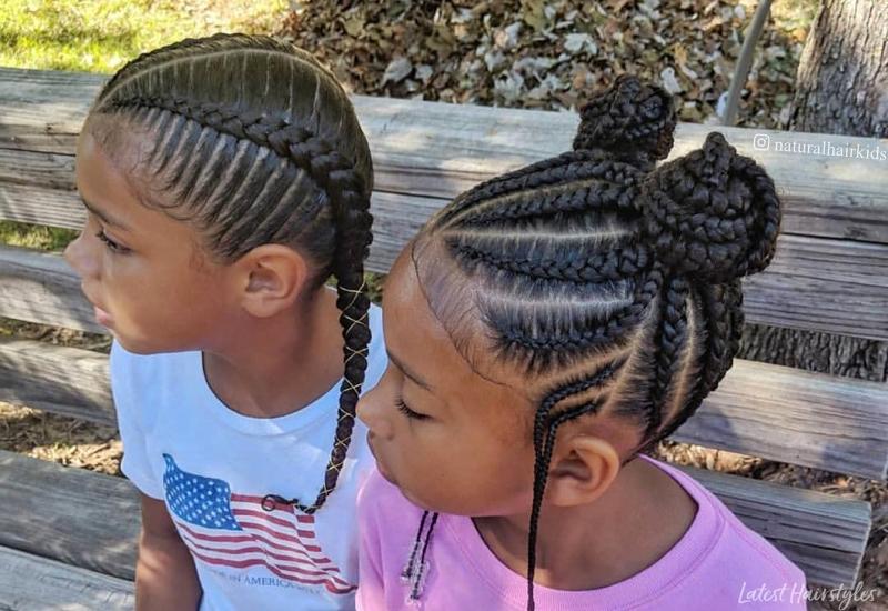 Cozy 20 cute hairstyles for black kids trending in 2020 Hair Styles For African American Kids Designs