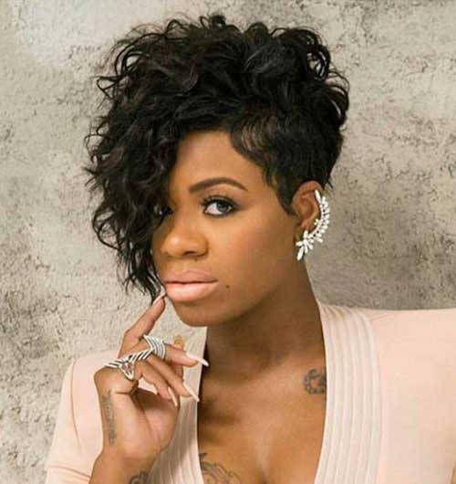Cozy 20 short curly hairstyles for black women African American Hairstyles Curly Hair Designs