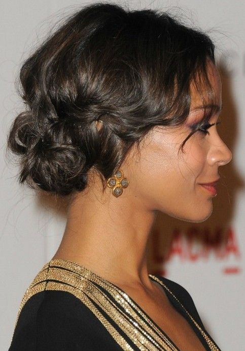 Cozy 23 african american prom hairstyles gallery of black prom Wedding Updos For Short African American Hair