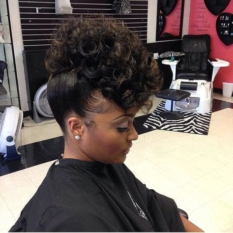 Cozy 43 black wedding hairstyles for black women in 2020 Updo Hairstyles African American