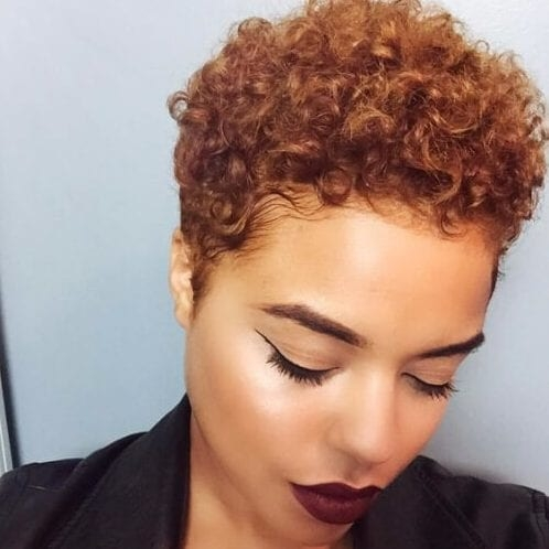 Cozy 55 ravishing short hairstyles for ladies with thick hair African American Textured Hairstyles