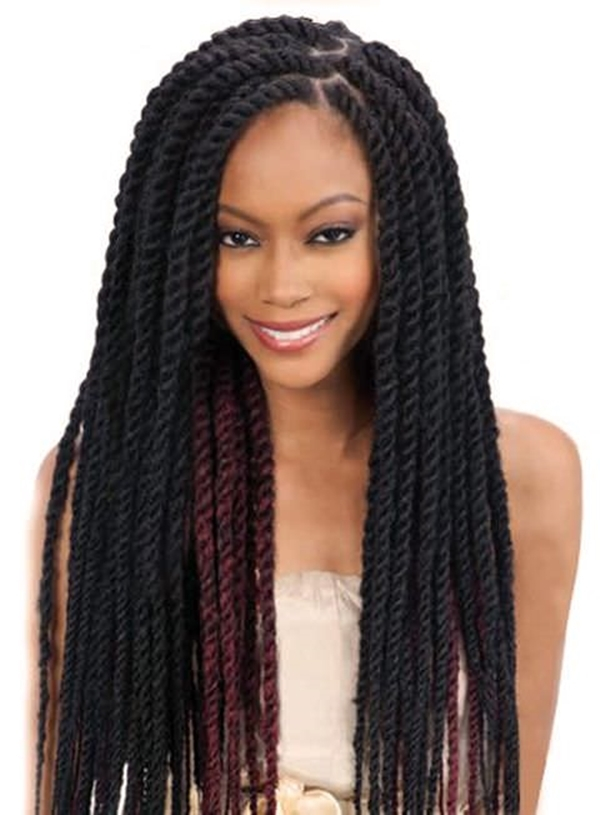 Cozy 66 of the best looking black braided hairstyles for 2020 Black American Braids Styles Ideas