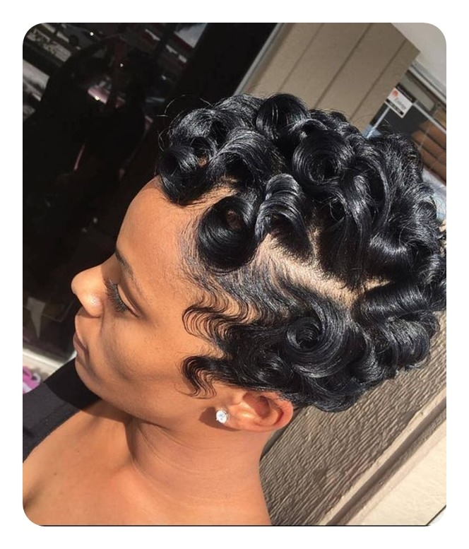 Cozy 68 vintage finger waves hairstyles you will want African American Short Finger Wave Hairstyles Designs