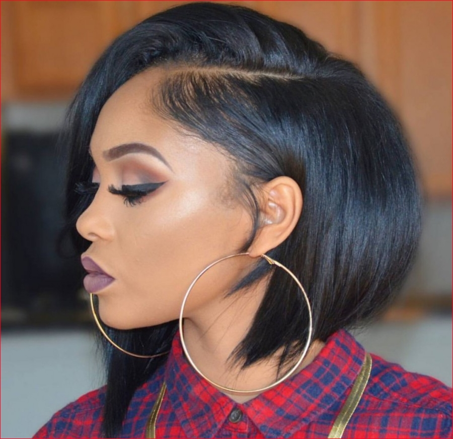 Cozy african american short hairstyles for round faces best Short Hairstyles For African American Round Faces Designs