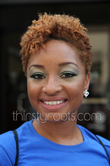 Cozy african american short natural hairstyles Short African American Natural Hairstyles Ideas