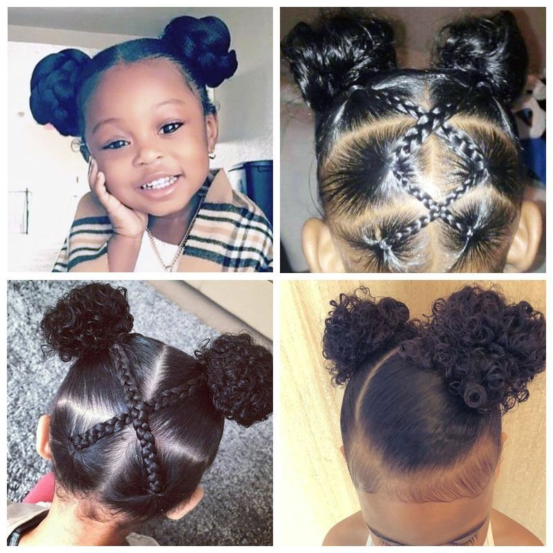 Cozy black toddler hairstyles angelic hairstyles for little Cute Hairstyles For African American Teens