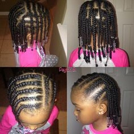 Cozy black toddler hairstyles natural hairstyles for kids hair African American Little Girl Braid Hairstyles
