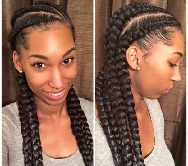 Cozy braid hairstyles for black women with short hair best of 20 Braided Hairstyles For Short African American Hair Designs