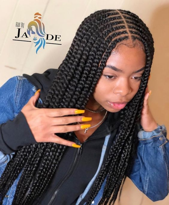 Cozy cornrow natural hairstyles 2019 25 most african inspired Cute Braids For African American Hair Ideas