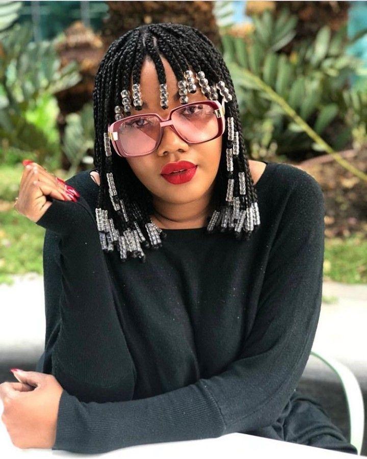 Cozy paida hairstyles hair beads braided hairstyles braids African American Braids With Bangs