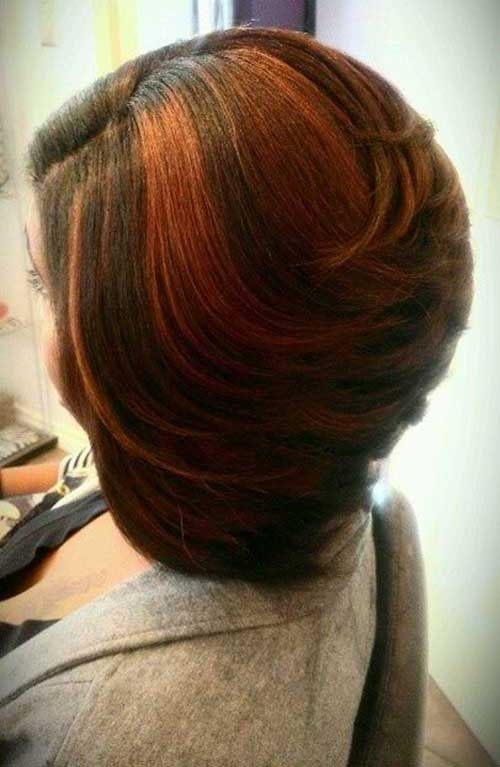 Cozy pin on bob hair styles African American Layered Bob Hairstyle Photos Ideas
