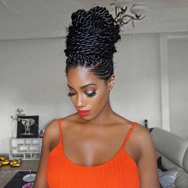 Cozy pin on stayglam hairstyles Elegant Braids African American Ideas