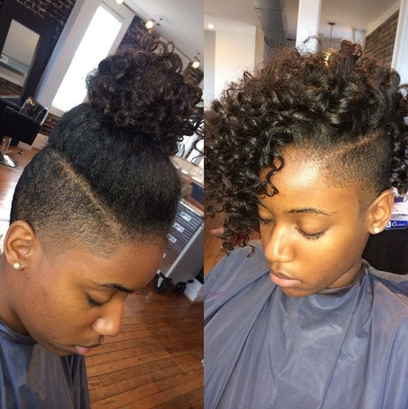 Cozy shaved sides hairstyles for black hair google search Abfrican American Shorthairstyles With Shaved Sides Designs