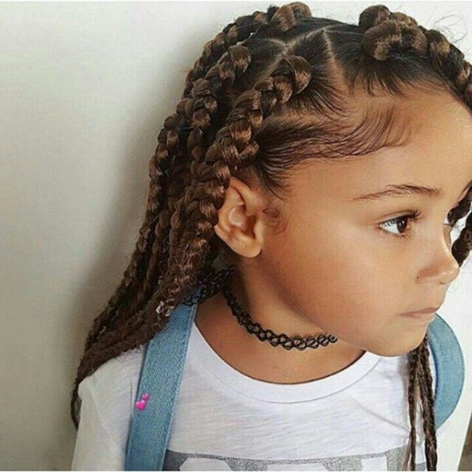 Cozy top 10 cutest hairstyles for black girls in 2020 pouted Cute Hairstyles For African American Teens