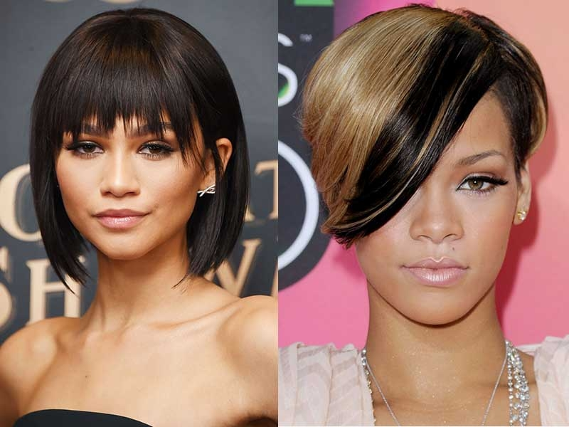 Cozy top 8 african american hairstyles with bangs that will turn African American Hairstyles With Bangs