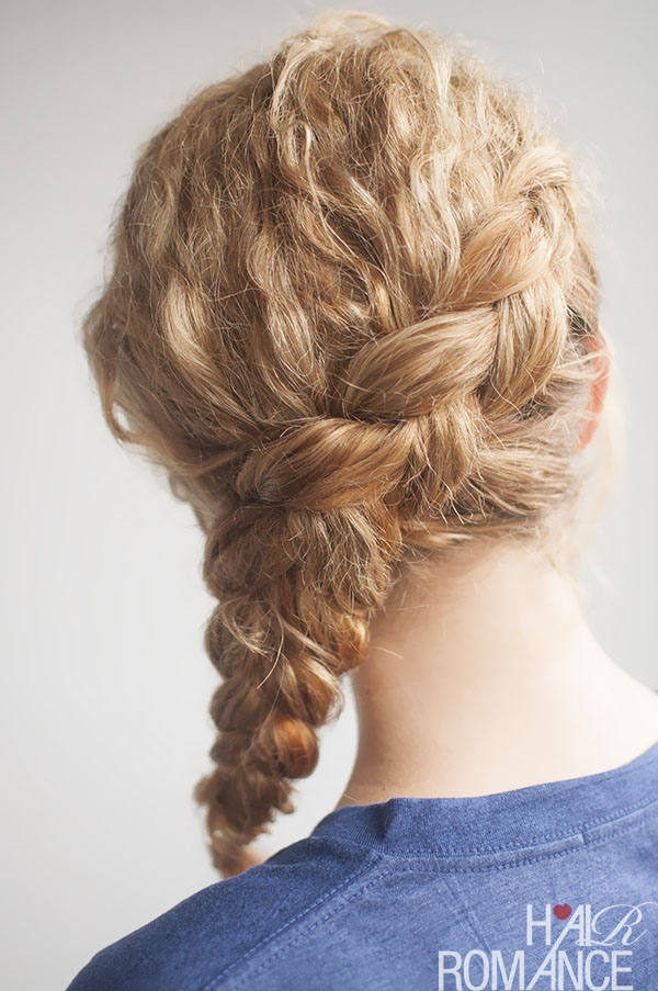 curly side braid hairstyle tutorial hair romance Braided Hairstyles For Thick Curly Hair Choices