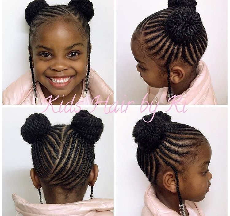 cute kid protective styles black kids hairstyles braids Natural Braided Hairstyles For Toddlers Ideas