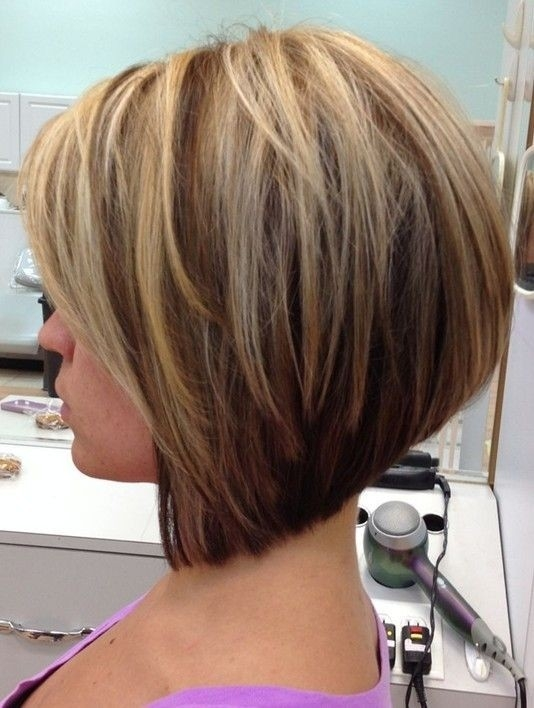 cute short layered a line bob cut for girls hairstyles weekly Short Length Hair Style Inspirations