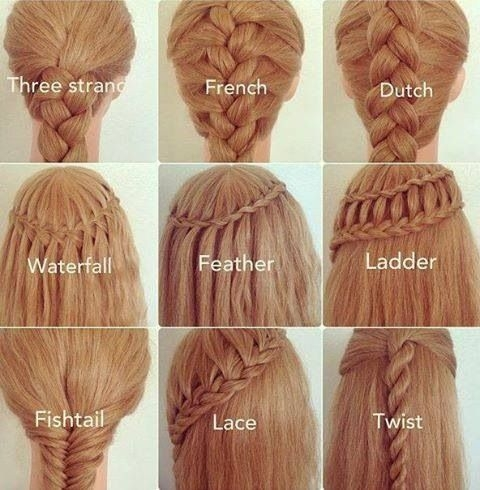 different braid styles i wish i knew how to do stuff to my Simple Hair Braids Styles Choices