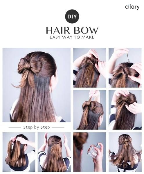 diy easy hairstyles easy hairstyles for medium hair easy Easy Hairstyles For Very Short Hair To Do At Home Step By Step Inspirations
