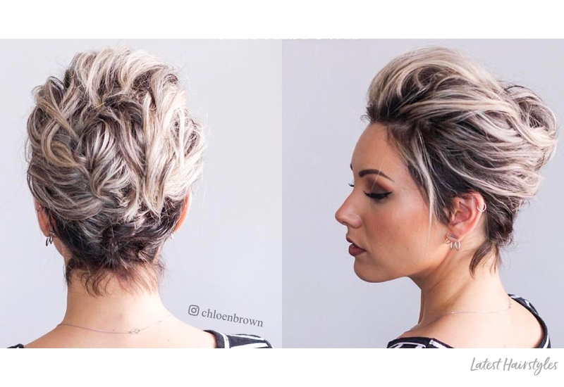 Elegant 1 prom hairstyle for short hair in 2020 is here 17 more Elegant Styles For Short Hair Inspirations