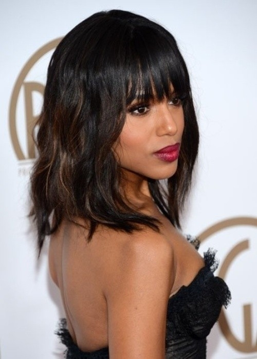 Elegant 10 new black hairstyles with bangs popular haircuts African American Hairstyles With Bangs Ideas