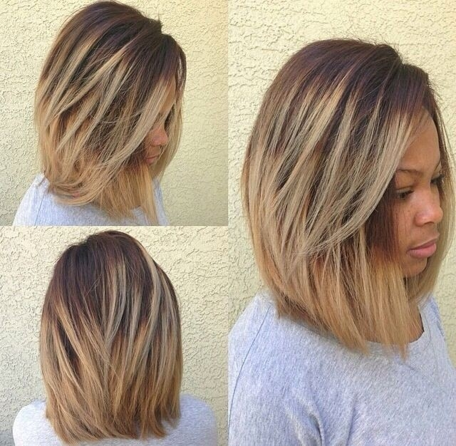 Elegant 10 new black hairstyles with bangs popular haircuts African American Layered Hairstyles Ideas