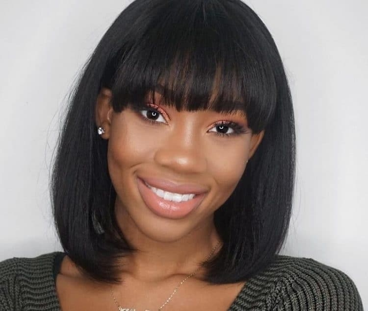 Elegant 10 of the best short black hairstyles with bangs 2020 trends African American Hairstyles With Bangs Ideas