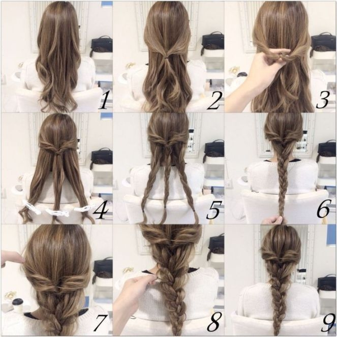 Elegant 10 quick and easy hairstyles step step hair styles Braid Hairstyles Step By Step With Pictures Choices