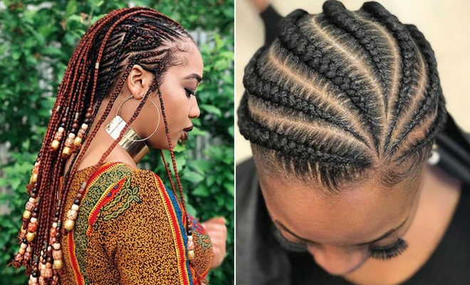 Elegant 109 protective african braids for hot seasons Braided Hairstyles Africa Inspirations
