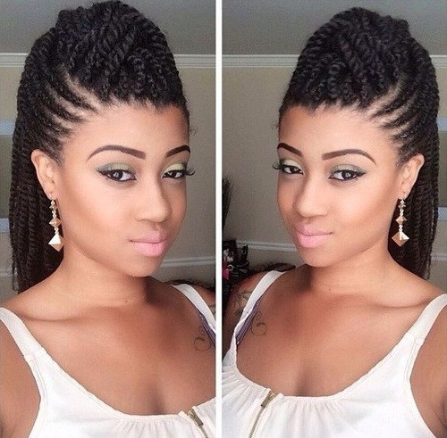 Elegant 120 captivating braided hairstyles for black girls 2020 African American Hair Braiding Styles Pictures