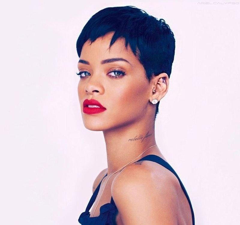 Elegant 13 of rihannas trendiest short hairstyles 2019 Rihanna Short Hair Styles Choices