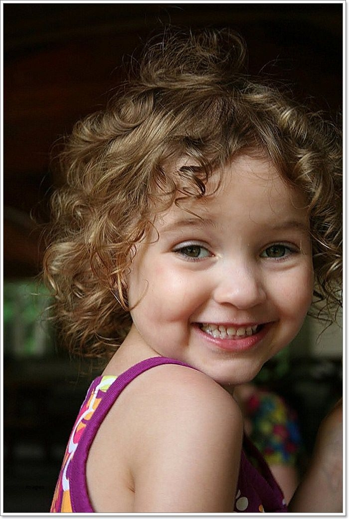 Elegant 136 adorable little girl hairstyles to try Cute Little Girl Hairstyles For Short Curly Hair Choices