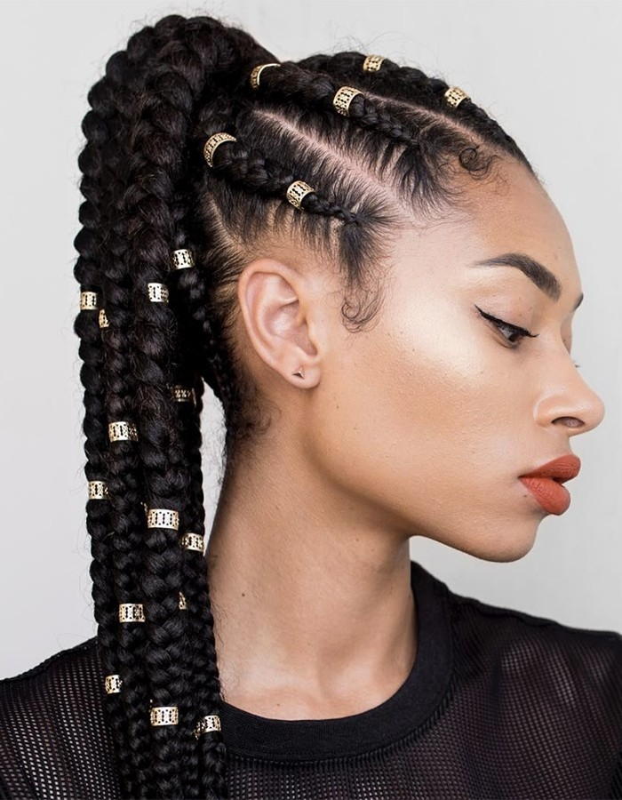 Elegant 15 braided hairstyles you need to try next naturallycurly Braided Hair Ponytail Styles Choices