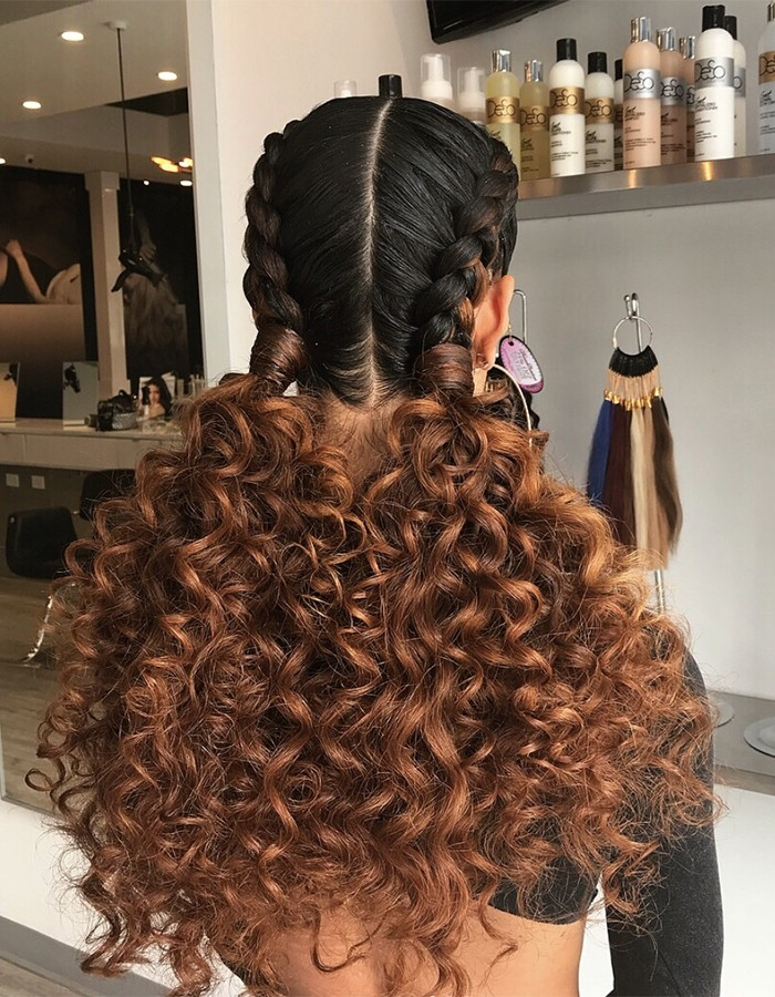 Elegant 15 braided hairstyles you need to try next naturallycurly Curly Hair Braiding Styles Inspirations