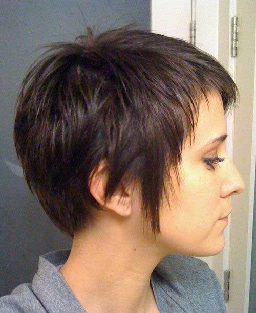 Elegant 15 short haircuts for thick straight hair Short Haircut Styles For Thick Straight Hair Ideas
