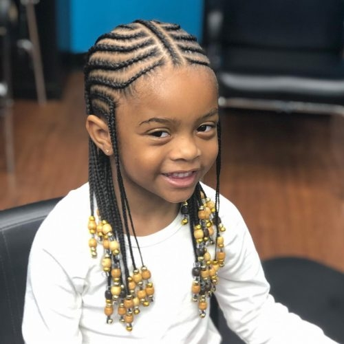 Elegant 18 cutest braid hairstyles for kids right now Children Hair Braided Styles Ideas