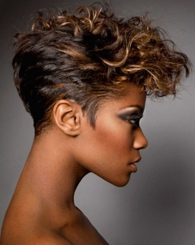 Elegant 20 hot and stylish short hairstyles for african american Short Hair For African American Women Ideas