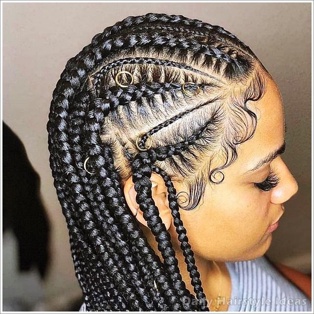 Elegant 20 inspiring braid hairstyles for black women daily Braided Hairstyles Female Inspirations