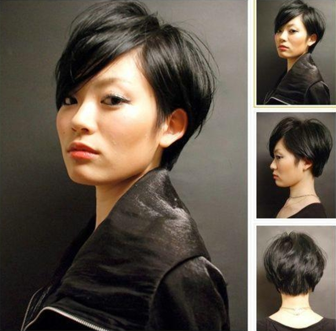 Elegant 20 short haircuts for asian women reviewtiful Short Hairstyle For Thick Asian Hair Inspirations
