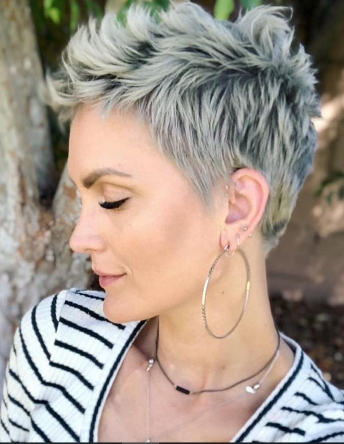 Elegant 21 best white pixie short haircuts ideas to be cool latest Styling Ideas For Very Short Hair Choices