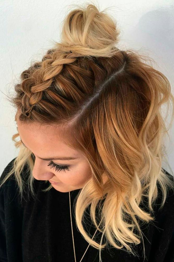 Elegant 21 lovely medium length hairstyles to wear at date night Picture Day Hairstyles For Short Hair Choices