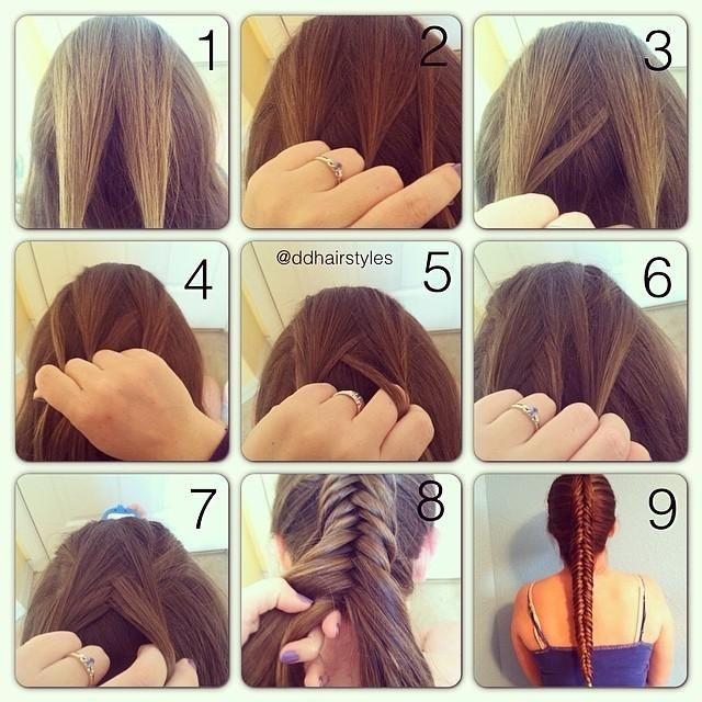 Elegant 22 easy hair tutorials diy hairstyles hairstyles weekly Diy Hairstyles For Short Hair Step By Step Ideas
