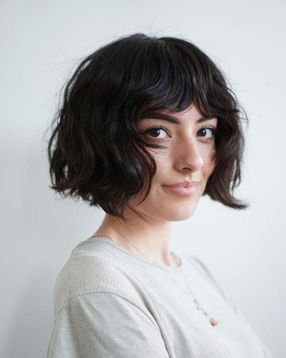 Elegant 23 best short bob haircut ideas to copy in 2020 stayglam Cute Short Bob Hairstyles With Bangs Choices