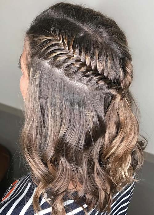 Elegant 23 quick and easy braids for short hair page 2 of 2 stayglam Simple Braided Hairstyles For Short Hair Step By Step Ideas