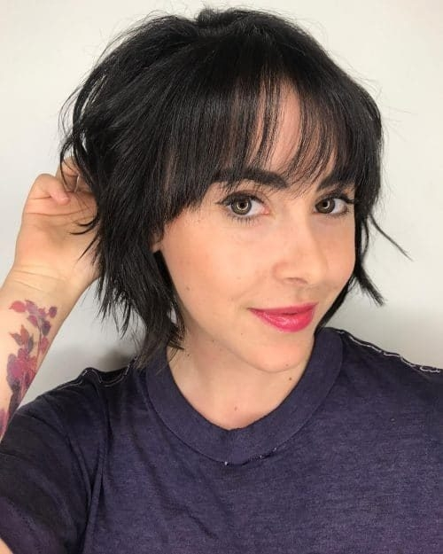 Elegant 23 short hair with bangs hairstyle ideas photos included Cute Hairstyles For Short Hair With Bangs To The Side Choices