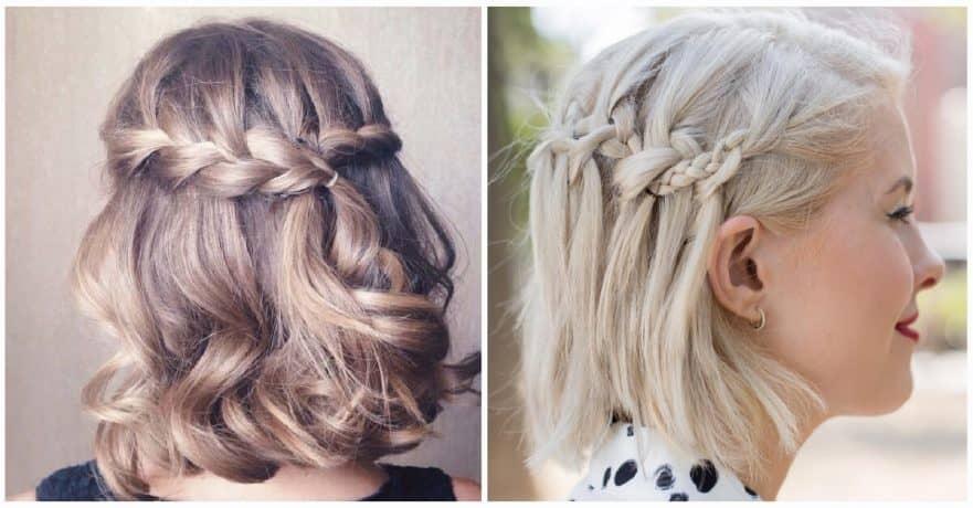Elegant 27 beautiful and fresh braid hairstyle ideas for short hair Hairstyle Ideas With Short Hair Ideas
